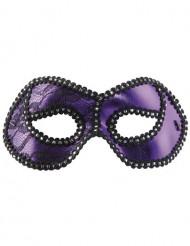 Venezianische Augenmaske in Lila für Erwachsene