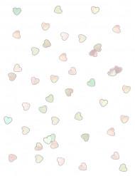 Herz-Konfetti - schimmernd wie Perlmutt