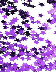 Sternen-Konfetti - metallic violett 14g