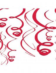 Rote Hänge-Dekoration