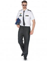 Flugzeug-Piloten-Kostüm für Herren