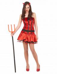 Sexy Teufels-Kostüm für Damen