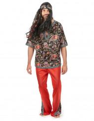 Buntes Hippie-Kostüm für Herren