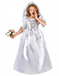 Brautkostüm mit Schleier für Mädchen