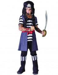 Tätowierter Pirat Kostüm für Jungen