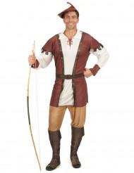 Mittelalterliches Waldmann-Kostüm für Herren