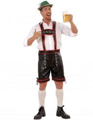 Bayrisches Kostüm für Herren in Lederoptik
