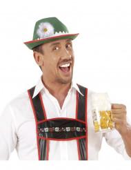 Bayrischer Hut mit Margerite für Erwachsene