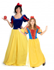 Märchen-Prinzessinnen-Paarkostüm für Mutter und Tochter