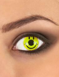 Originelle Smiley-Kontaktlinsen