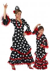 Spanierinnen-Paarkostüm für Mutter und Tochter