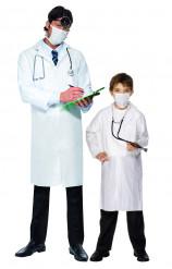 Doktor-Paarkkostüm für Vater & Sohn