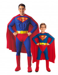 Superman™-Paarkostüm für Vater und Sohn