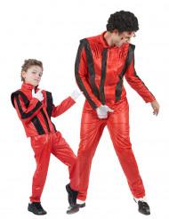 Popstar-Paarkostüm für Vater und Sohn
