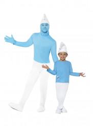 Schlumpf™ Paarkostüm für Vater & Sohn