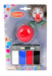 Clown-Schminkset