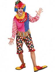 Buntes Clowns-Kostüm für Herren