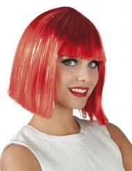 Rote Kurzhaar-Perücke für Damen