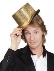Goldener Zylinder für Erwachsene