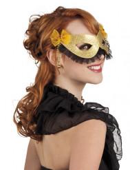 Goldene Augenmaske für Erwachsene