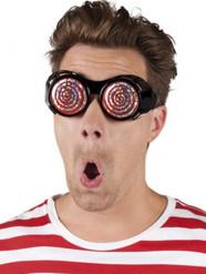 Spiralen-Brille