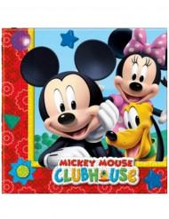 20 Papierservietten Mickey Mouse™ 33 x 33 cm