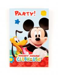 6 Micky Maus™ Einladungskarten