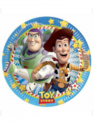 8 Pappteller Toy Story - Star Power