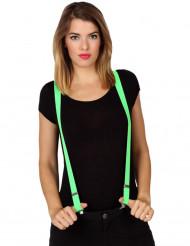 Grüne Hosenträger für Erwachsene