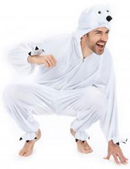 Eisbär-Kostüm für Erwachsene