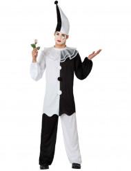 Pierrot-Kostüm für Herren