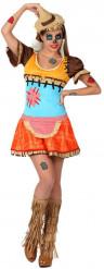 Vogelscheuchen-Kostüm für Damen