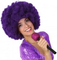Lila Mikro für Sänger