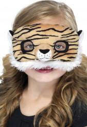 Tiger-Maske aus Fell für Kinder