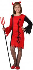 Teufels-Kostüm für Mädchen