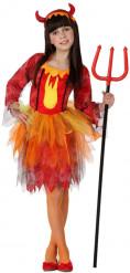 Königin der Teufel-Kostüm für Mädchen