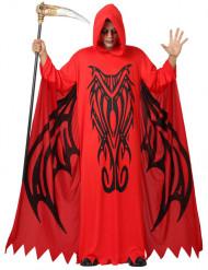 Rotes Dämonen-Kostüm für Herren
