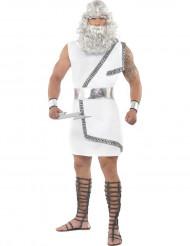 Weißes Zeus-Kostüm für Herren