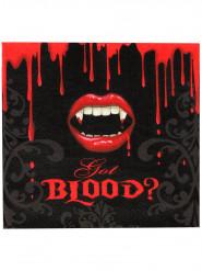 16 blutiger Biss Servietten