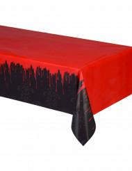 Plastik-Tischdecke laufendes Blut