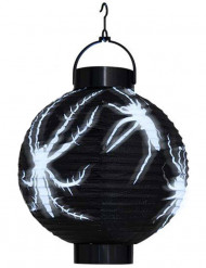 Halloween LED-Papierlaterne Spinnen