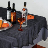 Tischdecke schwarze Schleier