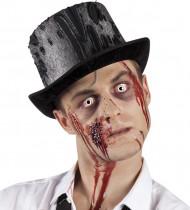 Zombie Zylinder-Hut für Erwachsene