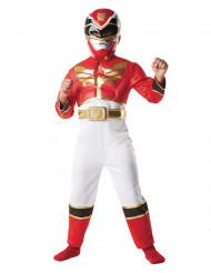 Rotes Power Rangers™ 3D-Kostüm für Jungen
