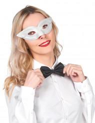 Weiße Augenmaske für Erwachsene