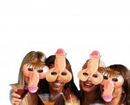 4 witzige Penis-Masken