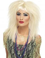Blonde Kräusel Perücke für Damen