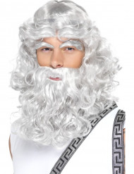 Zeus-Perücke für Herren