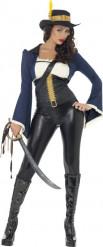 Piraten-Kapitän-Kostüm für Damen