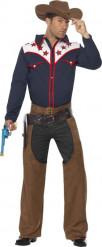 Wild West Cowboy-Kostüm für Herren